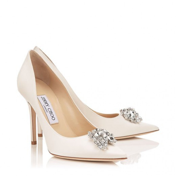 Nude Jimmy Choo Wedding Shoes