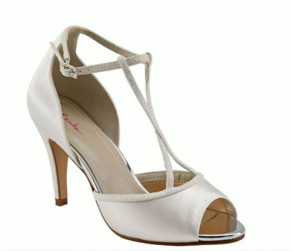 Peep Toe Wedding Shoes